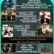 Monsieur Timide invité au 1er Festival de la Chanson Française du Bistrot Culture