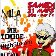 Monsieur Timide se chauffe au Rock !