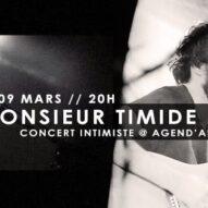 LOGAR – MONSIEUR TIMIDE Concert Intimiste