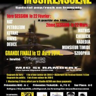 Monsieur Timide au tremplin Musikenscene 2014 !